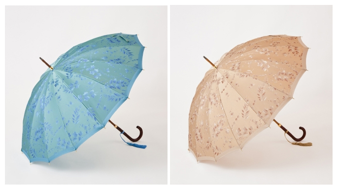 【宮内庁御用達】女性への贈り物に是非!最高級16本骨仕様の雨傘が素敵すぎ!
