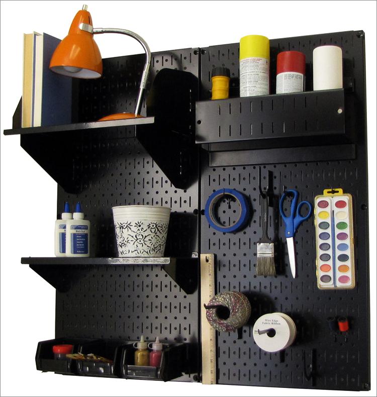 【DIY】有孔ボード(パンチングボード) を使った見せる収納術。