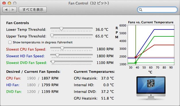 【Mac】熱暴走対策に、Macのファンの回転数を制御出来る無料ソフト「FanControl」の使い方