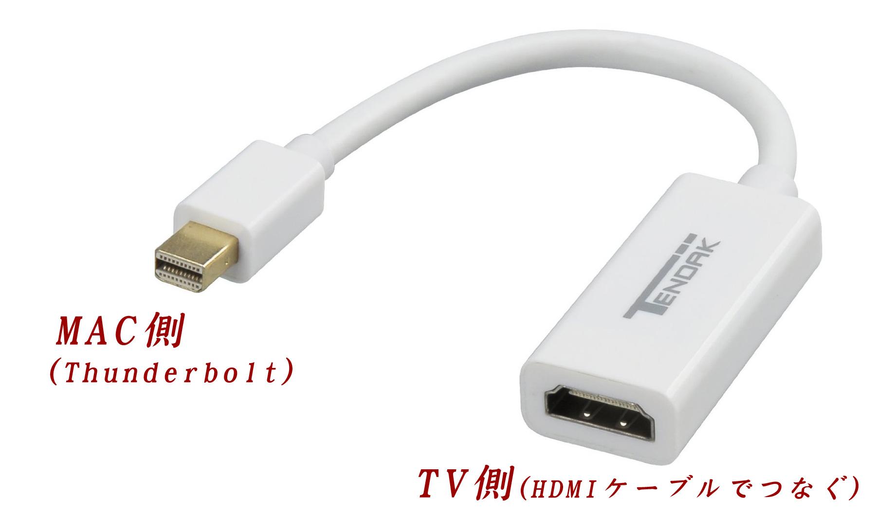 macをテレビに接続する最も簡単な方法